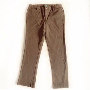 LAUREN Ralph Lauren Petite Brown Pants Size 8P